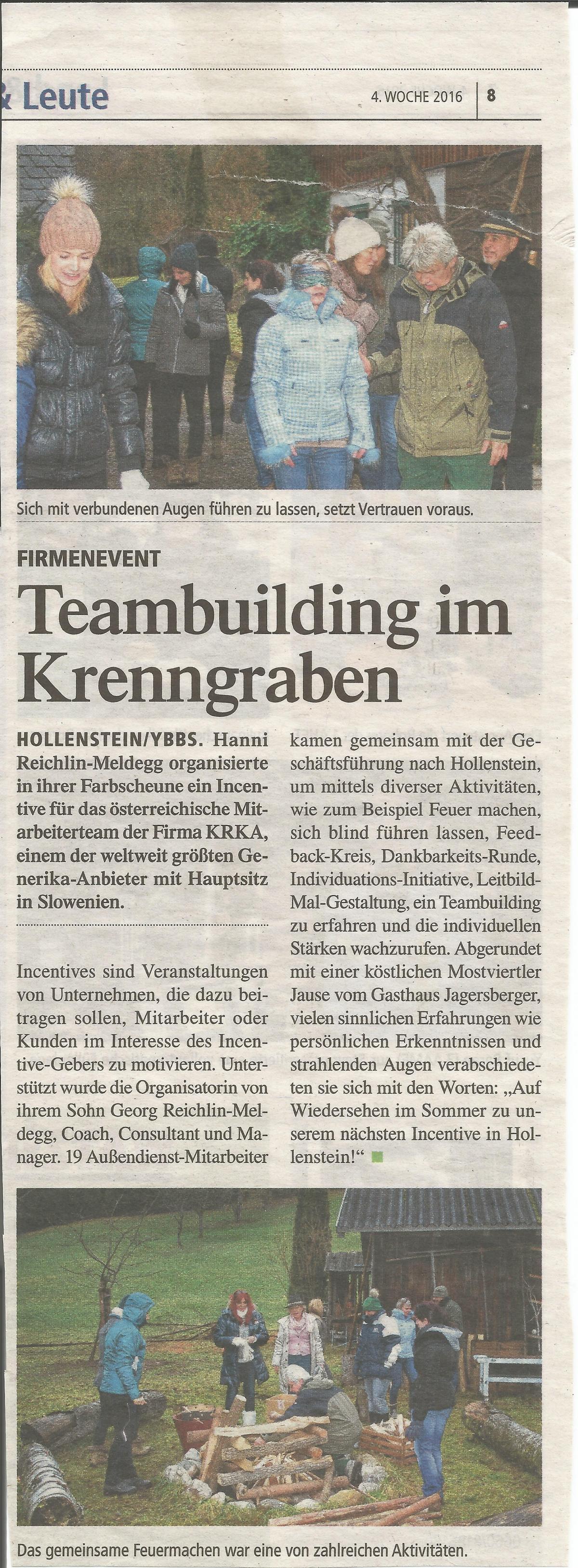 Teambuilding KRKA